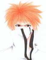Arrancar Ichigo by MarshiMallow