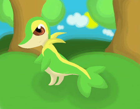 Snivy by SwEeTxPiNk96