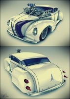 White Sled by LadyDeuce