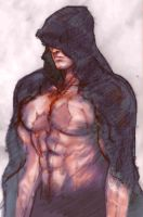 hooded kazuya colour by JUSTINQ88