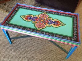 Desert love coffee table by Moonlight-Arts