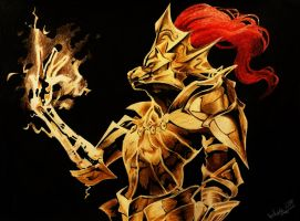Ornstein The Dragonslayer by ThePrestigiousZelda