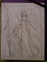 Angel Project #4 Armaita first sketch by Lantice