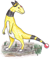 Realistic Ampharos by Ditsy-Shinx