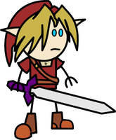 Link - OotS style. by Crimms