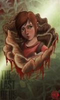 Ellie from THE LAST OF US by Arcsh