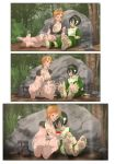 Commission Toph and Nami by Einom