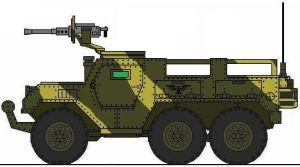 Armored Hunter 6x6 Transport by 2kuhl4you