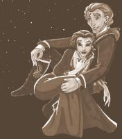 Belle and Adam - unfinished by MaryJet
