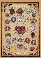 Majora's Masks by BolDuck