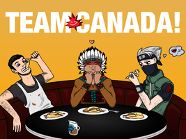 Team Canada! by paintbrushpuke