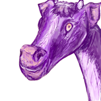 purple cow? by chickenmobile