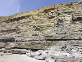 shelves and ledges of rock by nonyeB