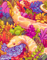 Succulent Snake by whinges