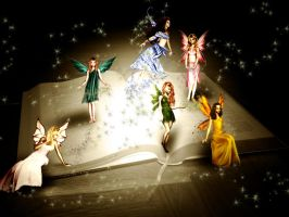 Book of Fairy Tales by MathildeE