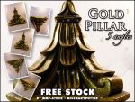 FREE STOCK, Gold Pillar 1 by mmp-stock
