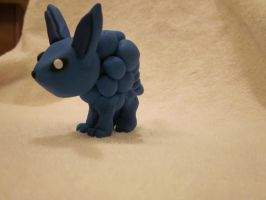 Eevee Evolution: Blue Raspberry by DoublerTrouble