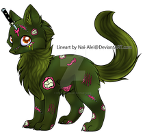 Zombie Wolf Adopt - Closed by Star-Wolfie