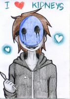 Eyeless Jack - Kidney Lover by Gray-Zakuro