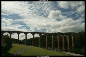 Leaderfoot Viaduct by HerrDrayer