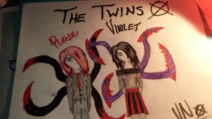 The Slender Twins by ViolentNight