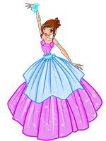WINX-COM BALL GOWN by caboulla