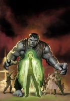 Marvel MasterWorks Hulk by DeanWhite
