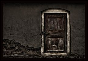 Old Door by miki3d