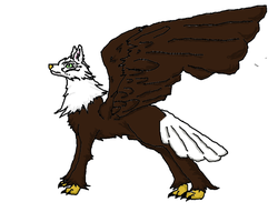 Male Wreagle by The-Lovestruck-Fox