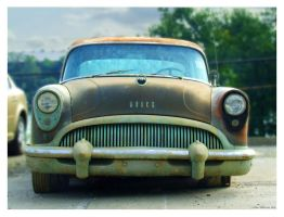 Rusty Buick by yankeedog