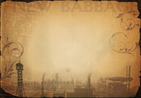 New Babbage Wallpaper No 2 by aecleanslate