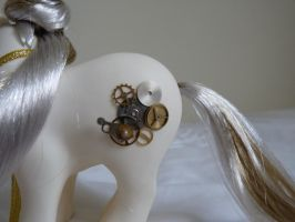 custom my little pony lady of clockwork 6 by thebluemaiden