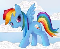 Rainbow Dash by NassuArt