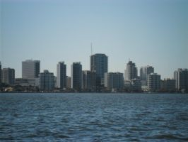 Looking Back at Perth by Ergonis