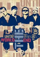 U2 - Until the End of the Worl by ArtByKostasTsipos