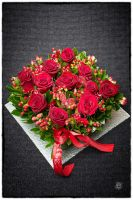 Red Rose Composition by etsap