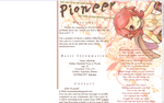 Pioneer Layout by BandaidPorn