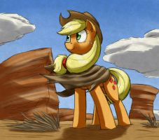 Desert Applejack by otakuap
