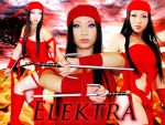 Yaya-Han as Elektra by carolmanachan