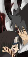 Naruto 606:Rin... I will love you forever by RobCV