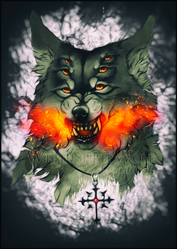 .: Demon Inside :. by WhiteSpiritWolf