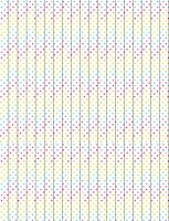 Rainbow Polka Dots Star Paper by sparklrckr