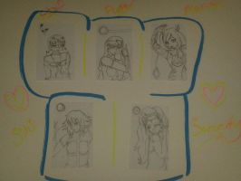 ACEO .:Set 2:. by SailorSun18