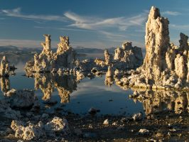 Mono Lake Tufa Towers by MirMidPhotos