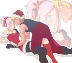 NaruSaku - Lucky Christmas Trip by NightLiight