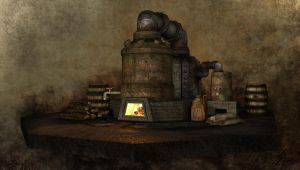 Dwarven Brewery by bobalina