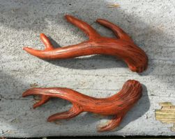 Antler barrette new sculpt by missmonster