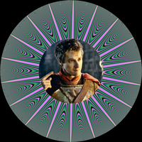 Decorative Plate - Doctor Who - Rory Williams II by FlyingMatthew