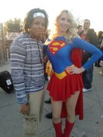 Super Girl and I by Gii-Wizz