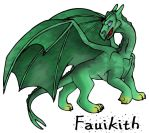 Fauikith - The Green Dragon by arazia